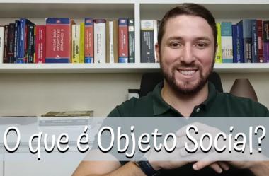 O que é objeto social?
